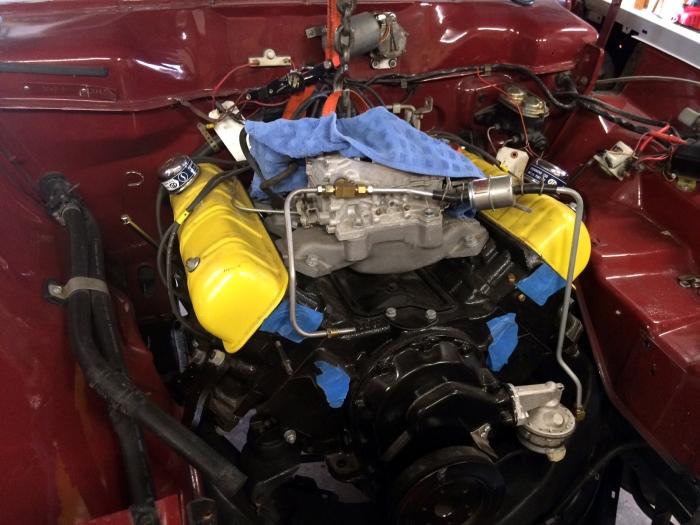 64 Commander 300 cu in 335 hp installed