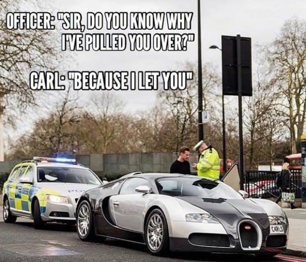 Bugatti-cop