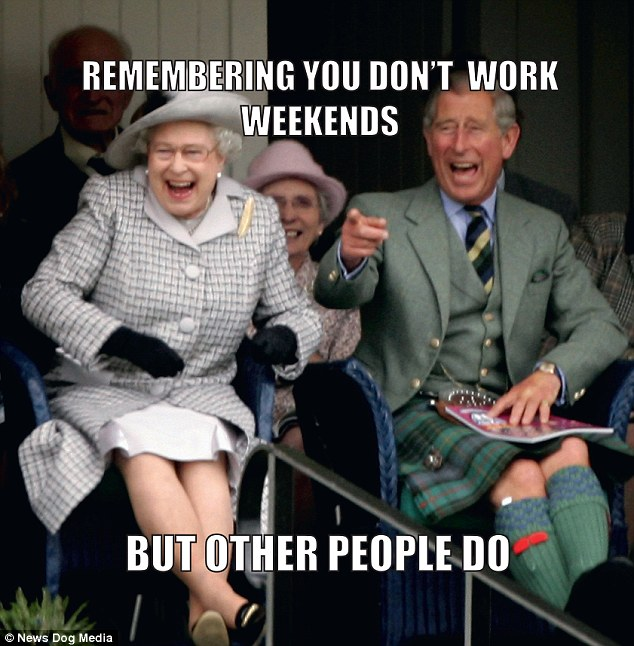 Don't work weekends