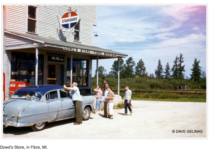 Dowd's gas station