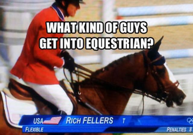 Equestrian rich fellows
