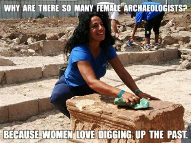 female archeologists