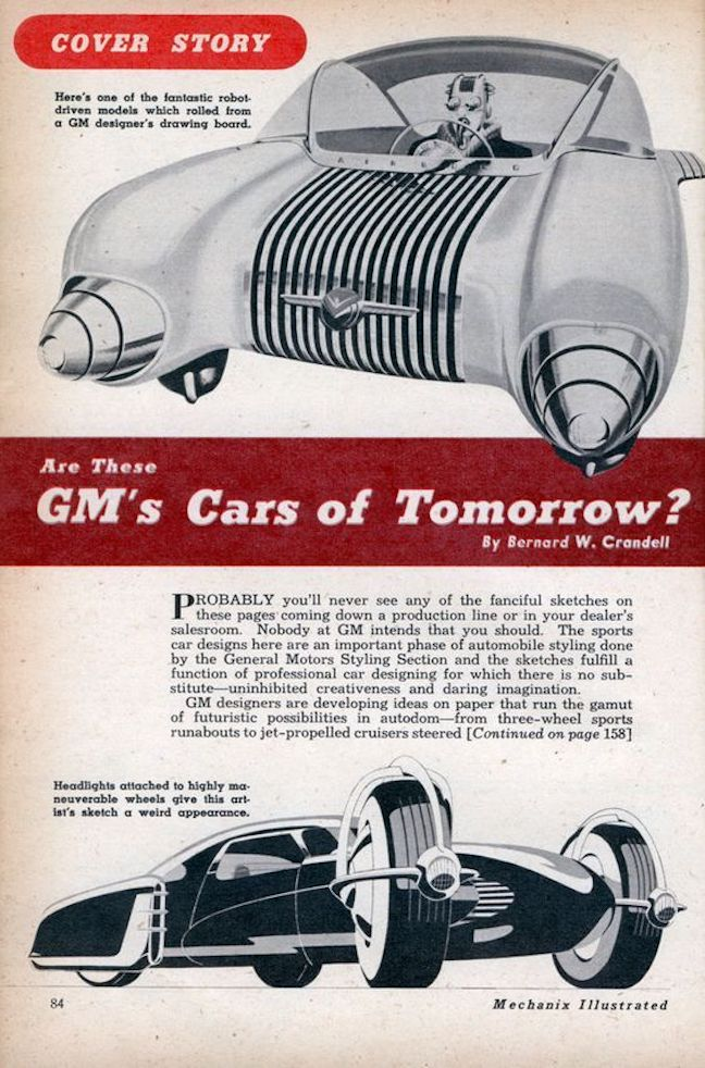 GM's Cars of Tomorrow