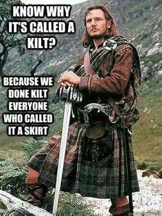 Kilt-skirt