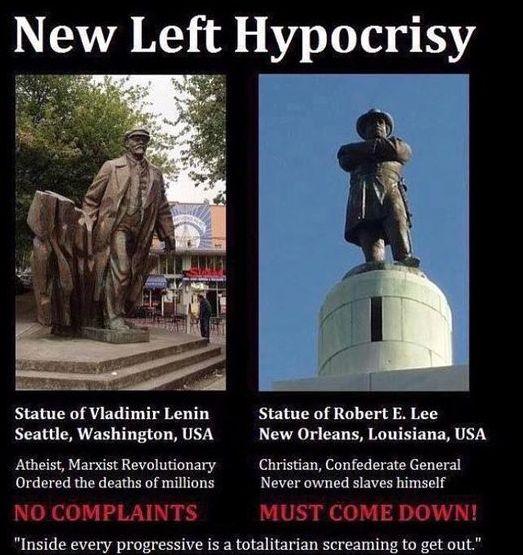 Librul-statue-hypocrisy