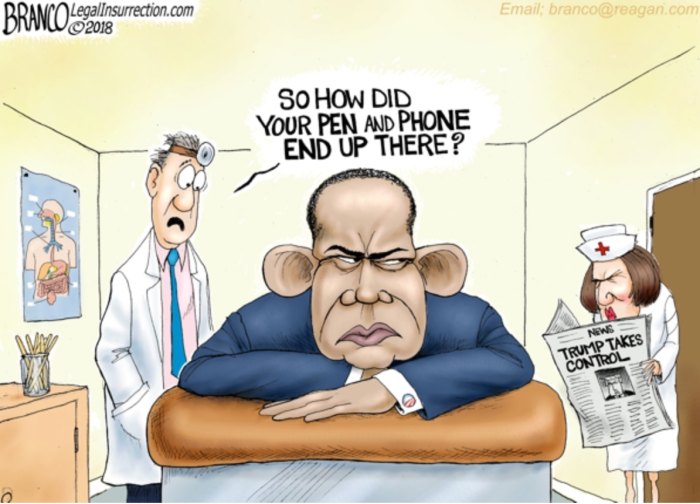 Obama-pen and phone