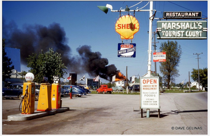 Old gas station photos