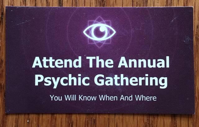 psychic gathering