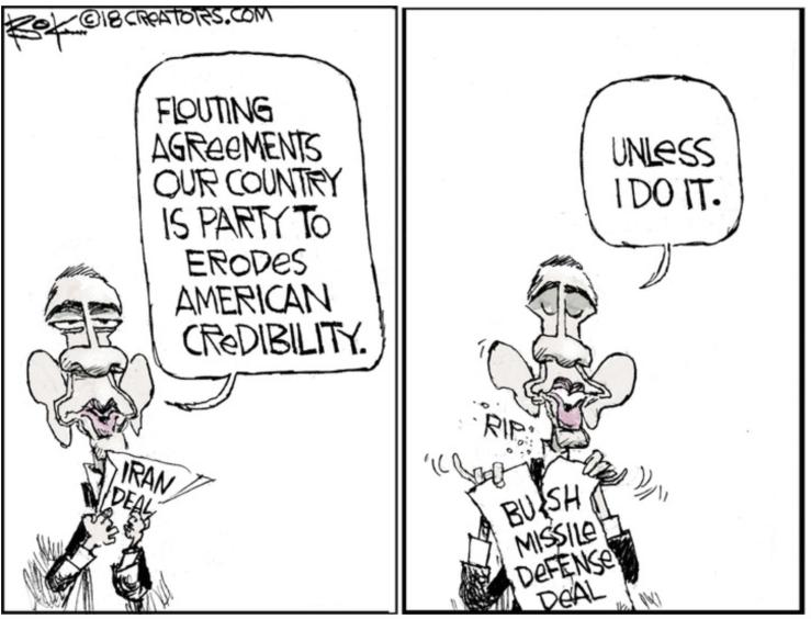 Trump-Obama-Iran