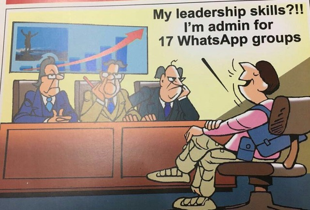 WhatsApp-leadership