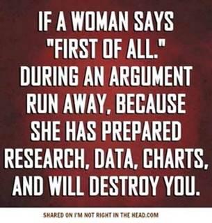Woman-argument