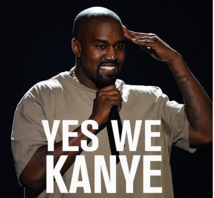 Yes we Kanye