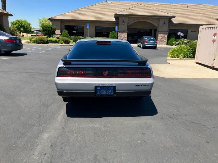 86 Firebird - rear
