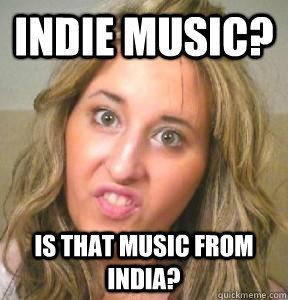Blonde-Indie Music