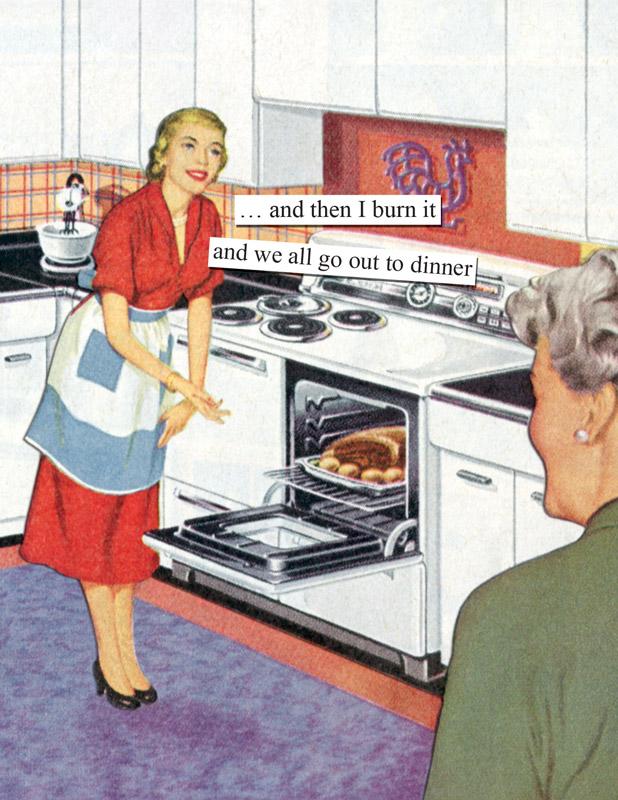 Burned dinner