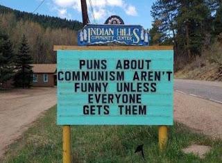 Communist puns