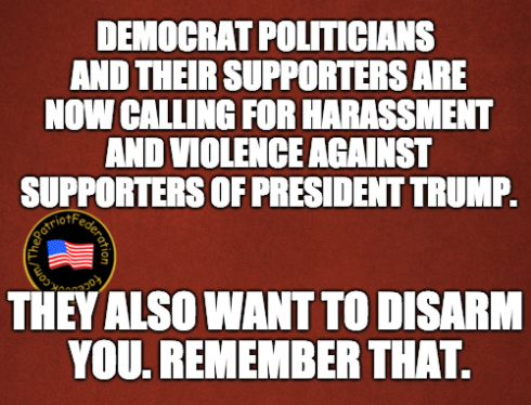 Democrats-violence-disarm-us