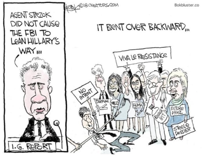 FBI bent over backwards
