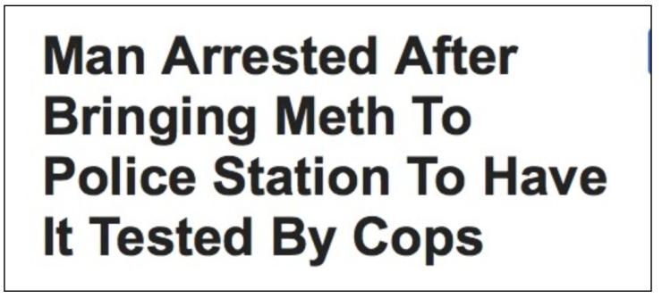 Floriduh - meth-cops