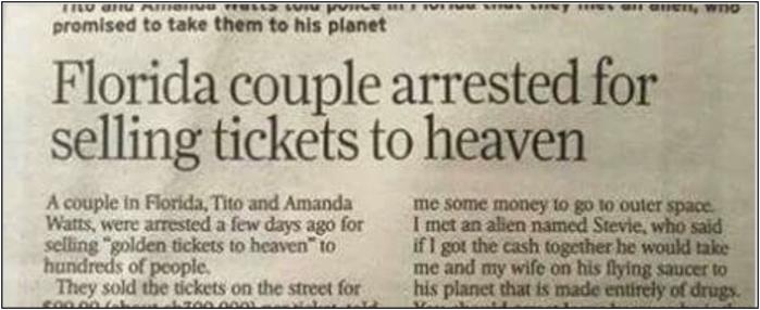 Floriduh-tickets to heaven