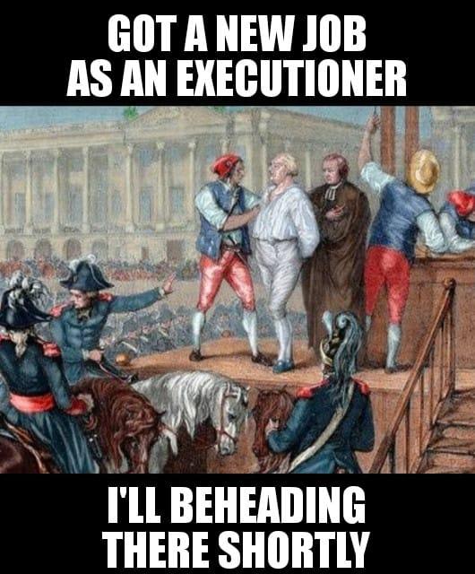 Groaner-beheading