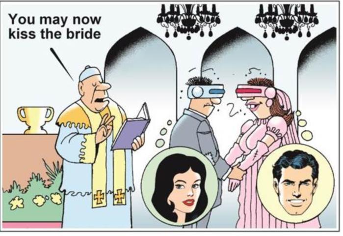 Kiss the bride-VR