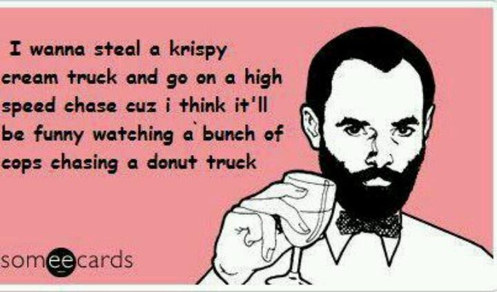 Krispy Kreme chase