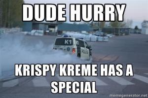 Krispy Kreme-cops