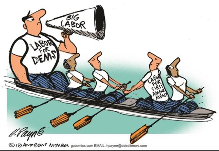 Labor-first amendment