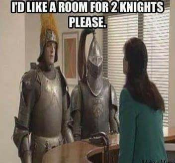 Room for 2 knights