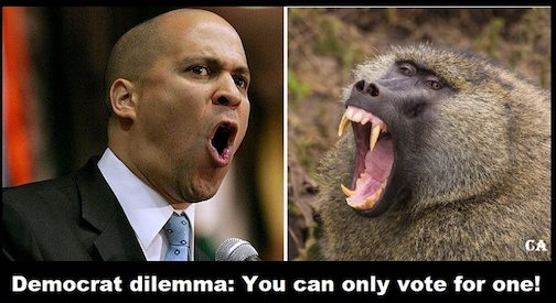 Separated at birth-Cory Booker