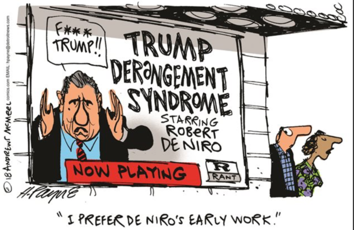 Trump Derangement syndrome-de Niro
