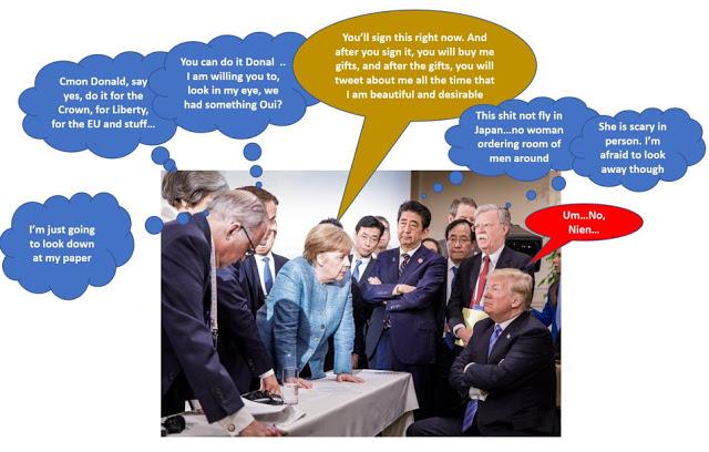 Trump-G7-Nein