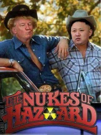 Trump-Kim-Nukes of Hazard