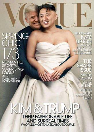 Trump-Kim-Vogue
