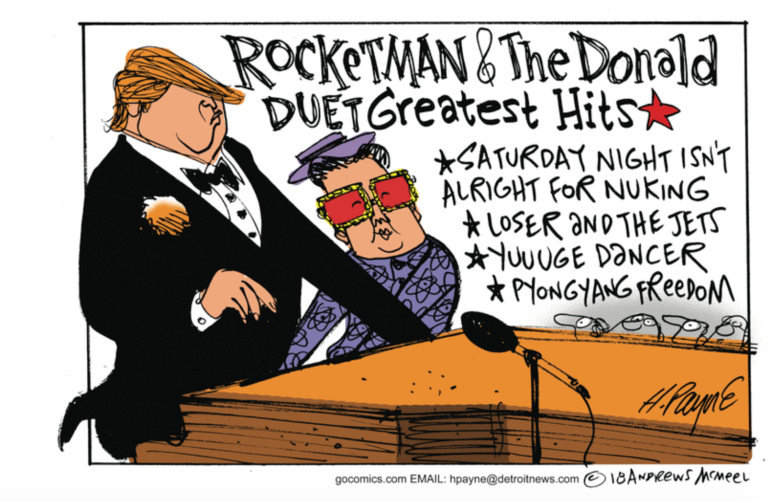 Trump-Rocketman-Greatest Hits
