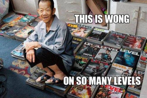 Wong on so many Levels