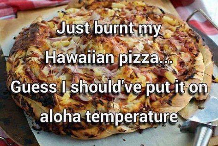 Aloha temperature