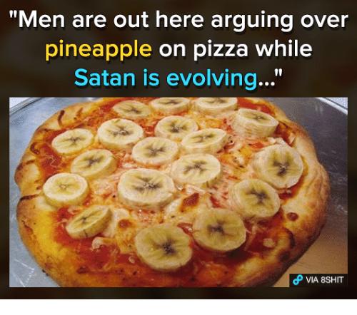 Banana pizza