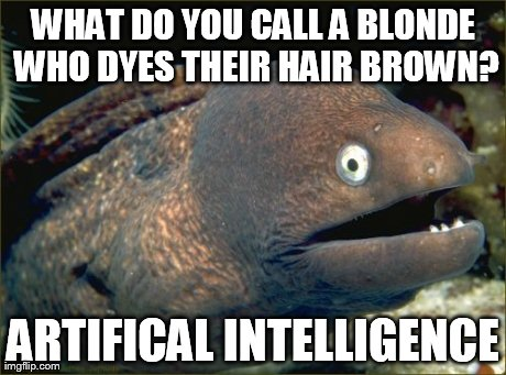 Blonde-artificial intelligence
