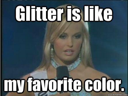 Blonde-Glitter