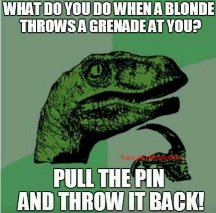 Blonde-grenade
