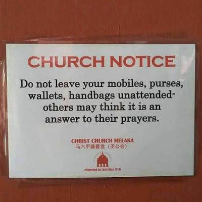 church-notice