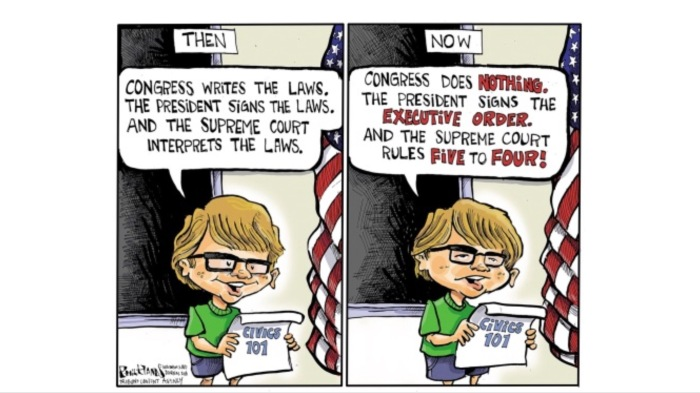Civics 101-then and now