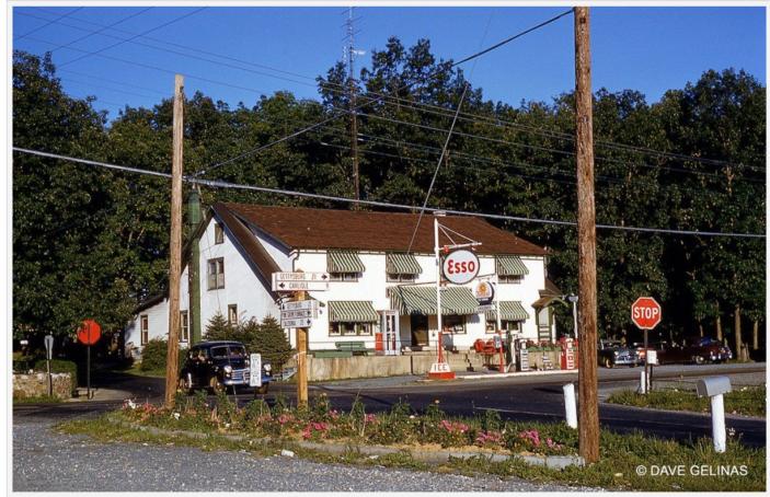 Esso station-Hunter's Run, PA