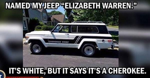 Fauxchahontas-Jeep