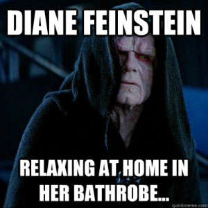 [Image: feinstein-bathrobe.jpg]