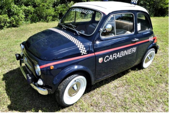 FIAT 500-Carabiniere