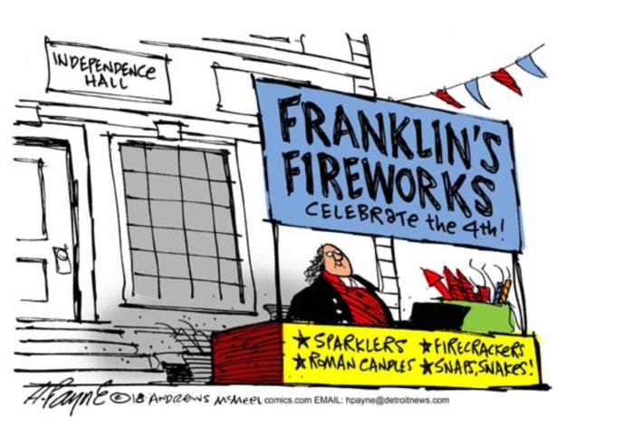 Franklin's Fireworks