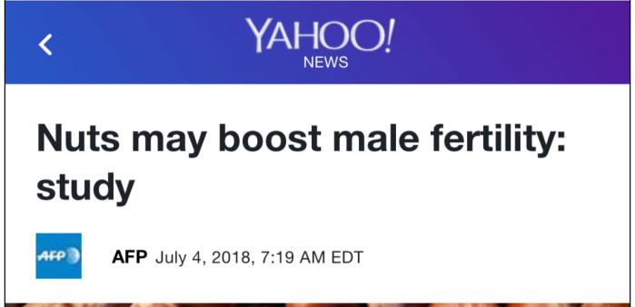 Headline of the day: nuts-male-fertility
